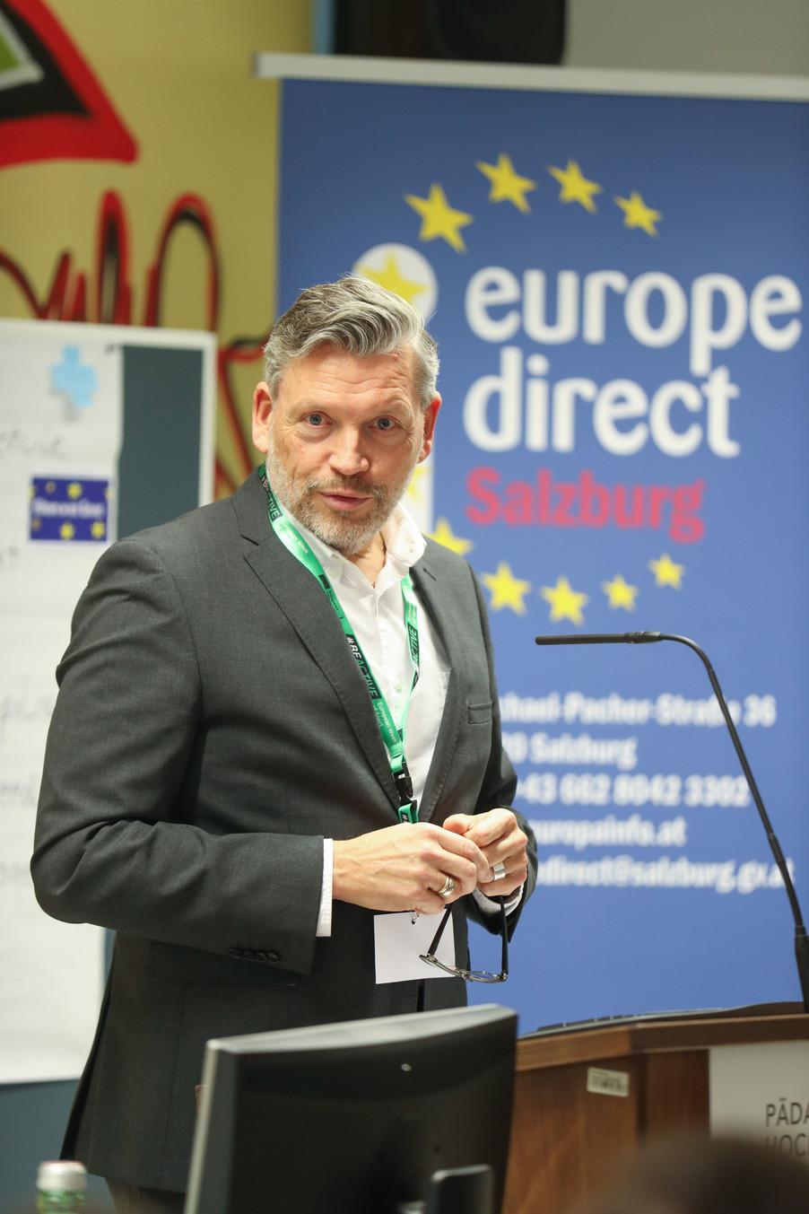 Bild 21 | SALZBURG - 2019-11-25: Die EU und die Medien Europapolitische Bildungsarbeit im ...