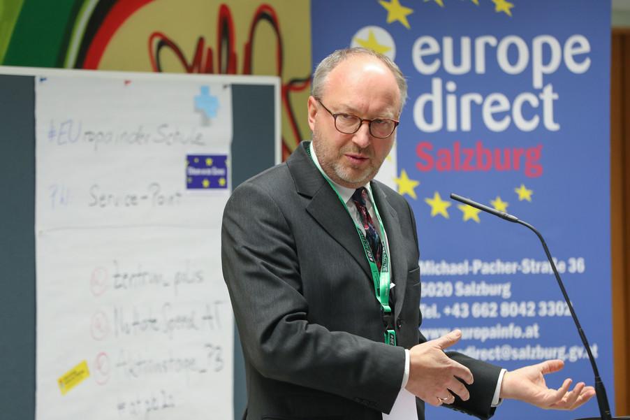 Bild 30 | SALZBURG - 2019-11-25: Die EU und die Medien Europapolitische Bildungsarbeit im ...