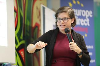 Bild 52 | SALZBURG - 2019-11-25: Die EU und die Medien Europapolitische Bildungsarbeit im Klassenzimmer Im ...