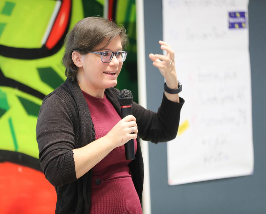 Bild 56 | SALZBURG - 2019-11-25: Die EU und die Medien Europapolitische Bildungsarbeit im Klassenzimmer Im ...