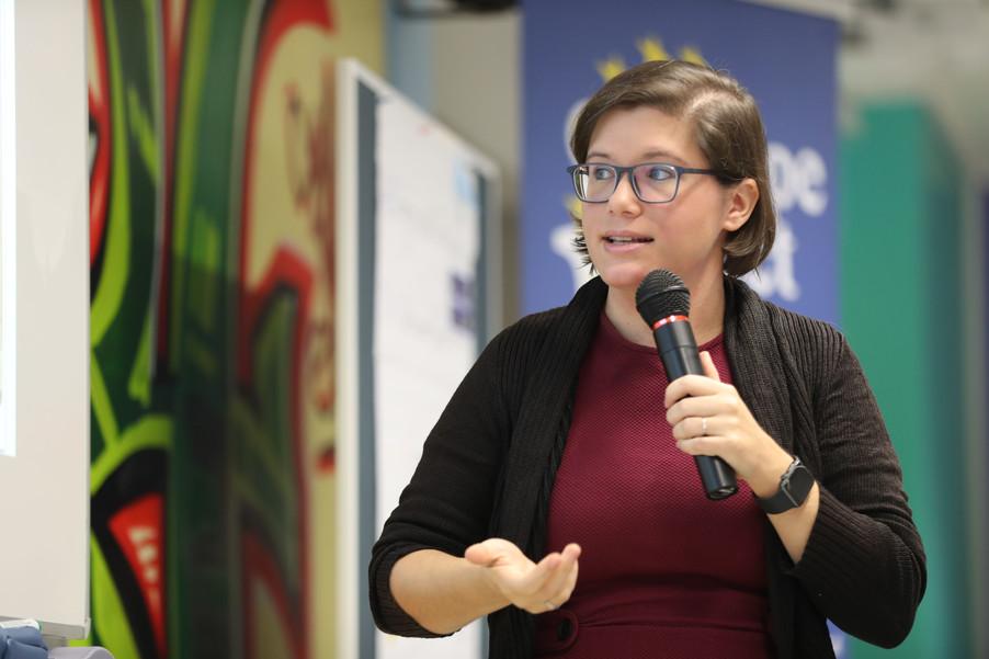 Bild 59 | SALZBURG - 2019-11-25: Die EU und die Medien Europapolitische Bildungsarbeit im Klassenzimmer Im ...