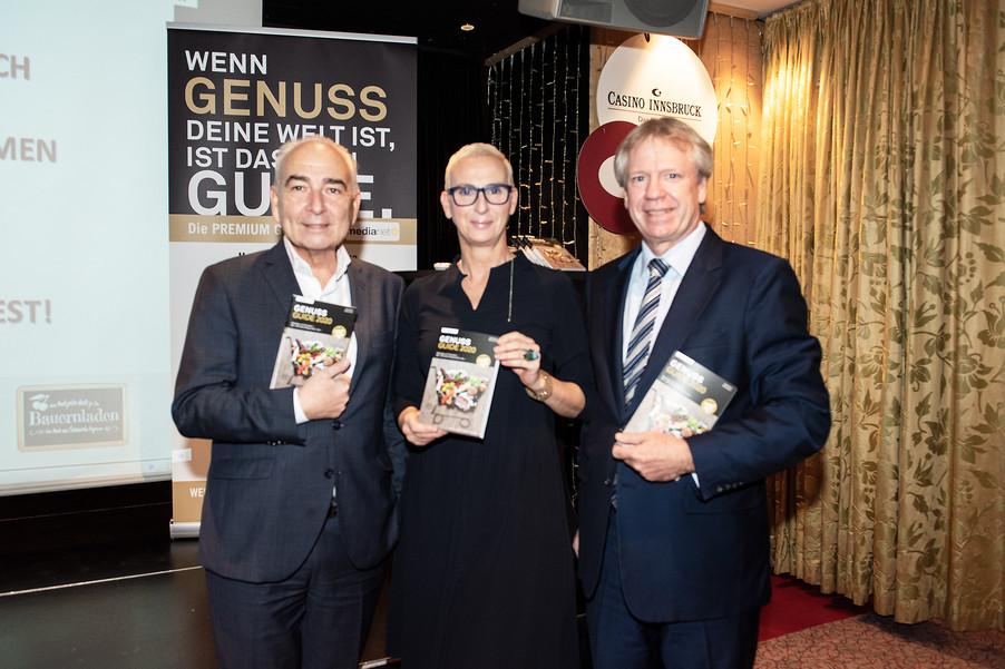 Bild 4 | Genussfest im Casino Innsbruck mit Präsentation Genuss Guide 2020