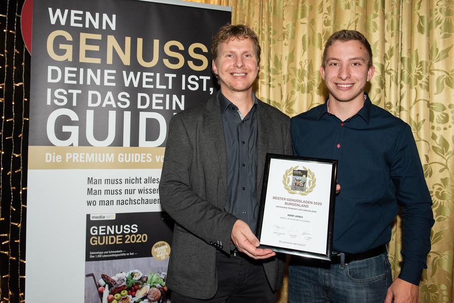 Bild 7 | Genussfest im Casino Innsbruck mit Präsentation Genuss Guide 2020