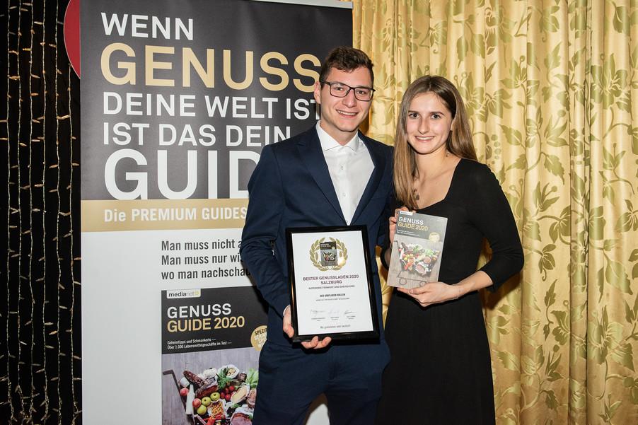 Bild 8 | Genussfest im Casino Innsbruck mit Präsentation Genuss Guide 2020