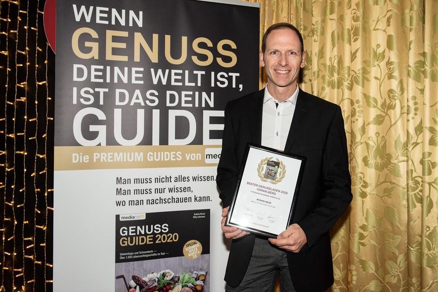 Bild 10 | Genussfest im Casino Innsbruck mit Präsentation Genuss Guide 2020
