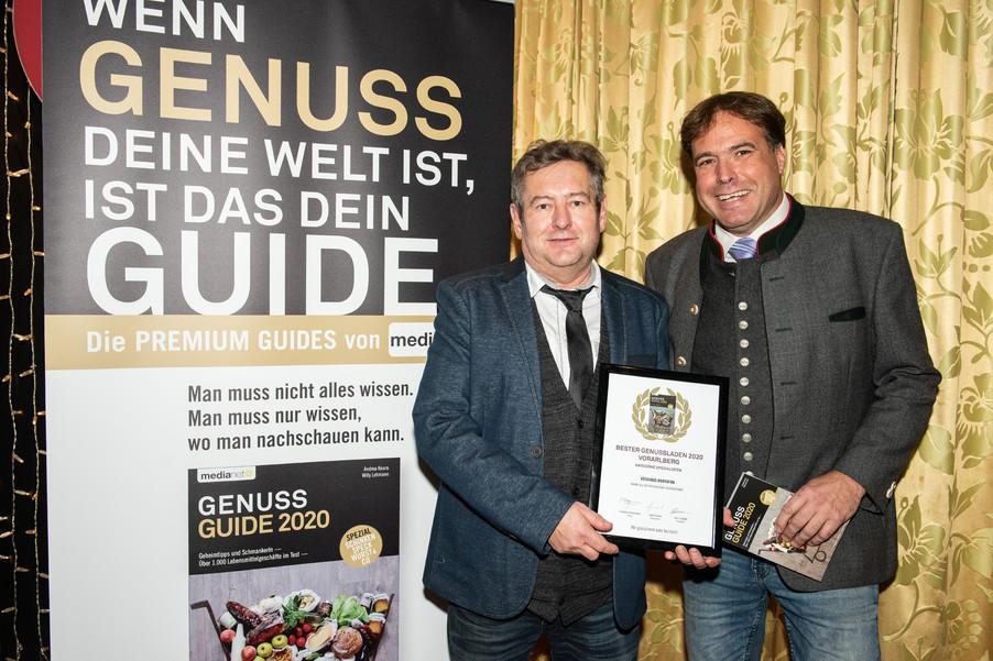 Bild 12 | Genussfest im Casino Innsbruck mit Präsentation Genuss Guide 2020