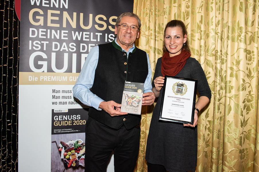 Bild 15 | Genussfest im Casino Innsbruck mit Präsentation Genuss Guide 2020