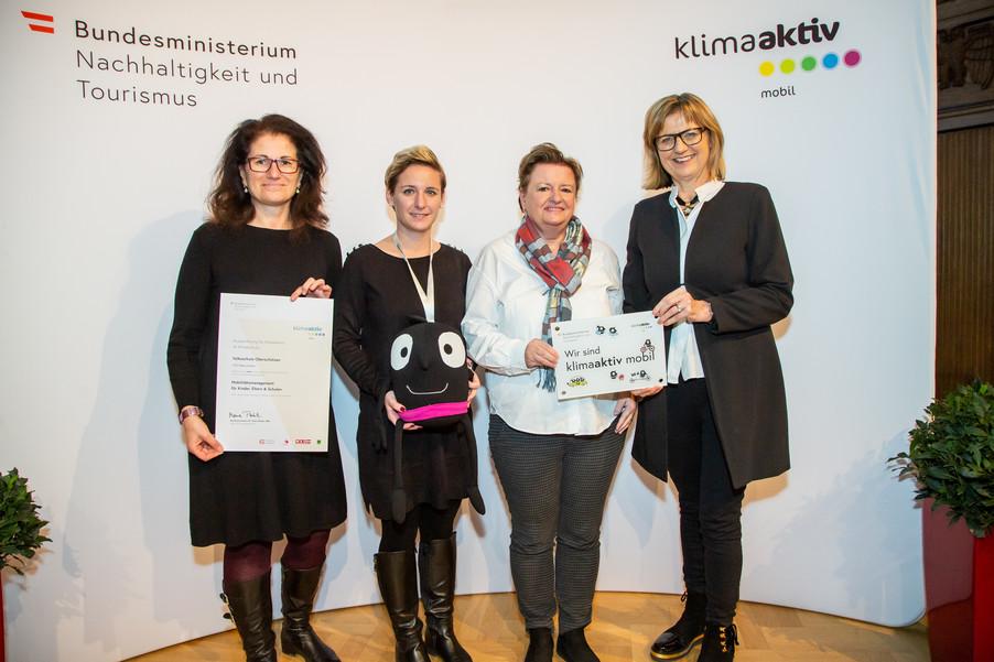 Bild 16 | klimaaktiv mobil Auszeichnung Bildungseinrichtungen 2019