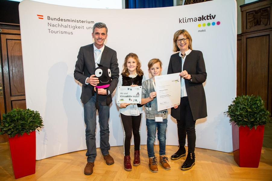 Bild 17 | klimaaktiv mobil Auszeichnung Bildungseinrichtungen 2019