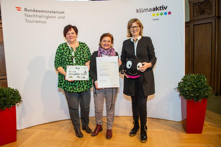 Bild 19 | klimaaktiv mobil Auszeichnung Bildungseinrichtungen 2019