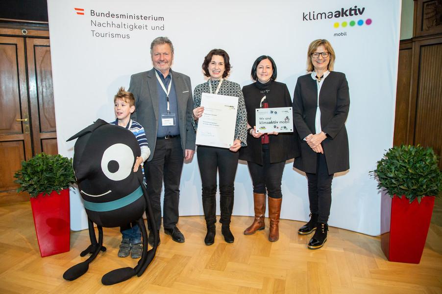 Bild 22 | klimaaktiv mobil Auszeichnung Bildungseinrichtungen 2019