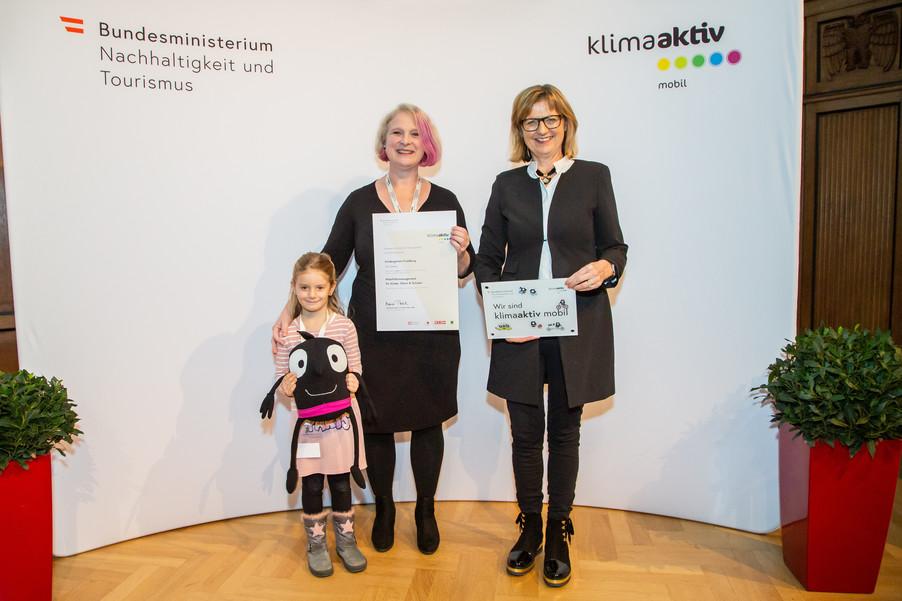 Bild 24 | klimaaktiv mobil Auszeichnung Bildungseinrichtungen 2019