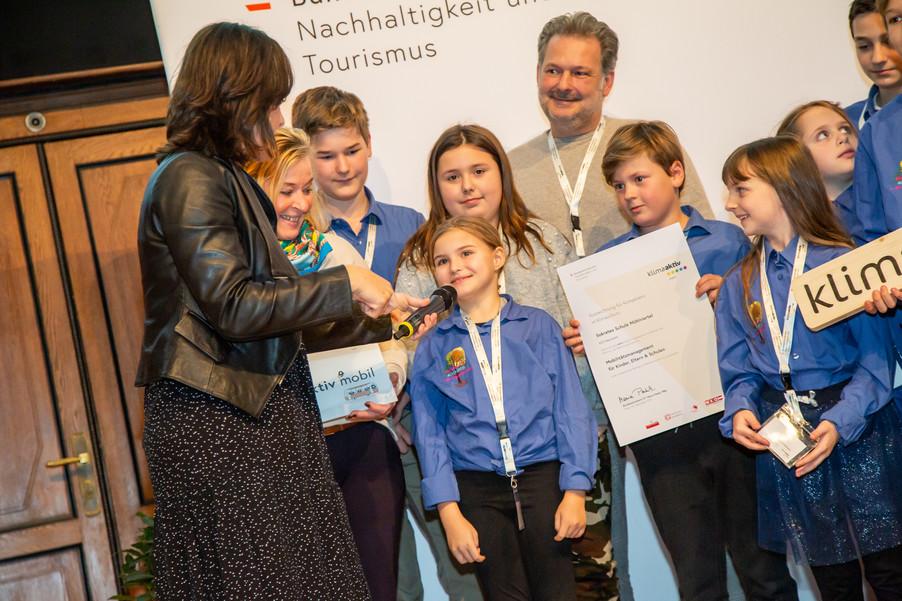 Bild 121 | klimaaktiv mobil Auszeichnung Bildungseinrichtungen 2019