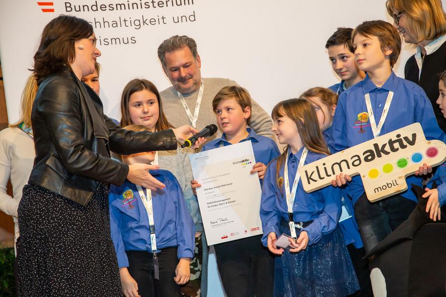 Bild 122 | klimaaktiv mobil Auszeichnung Bildungseinrichtungen 2019