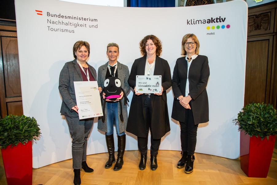 Bild 29 | klimaaktiv mobil Auszeichnung Bildungseinrichtungen 2019