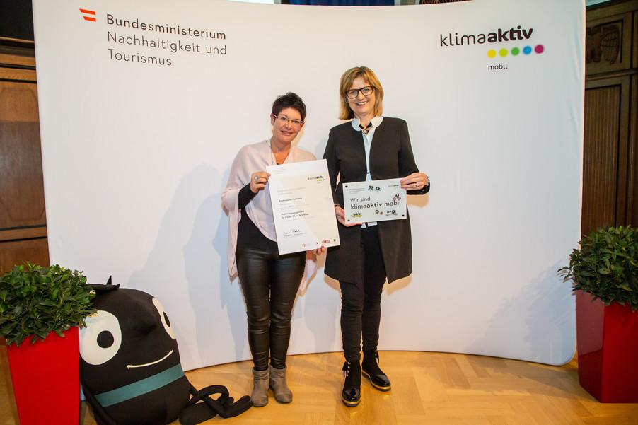 Bild 32 | klimaaktiv mobil Auszeichnung Bildungseinrichtungen 2019