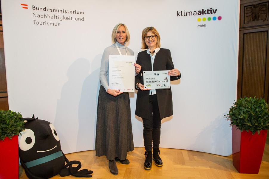 Bild 33 | klimaaktiv mobil Auszeichnung Bildungseinrichtungen 2019