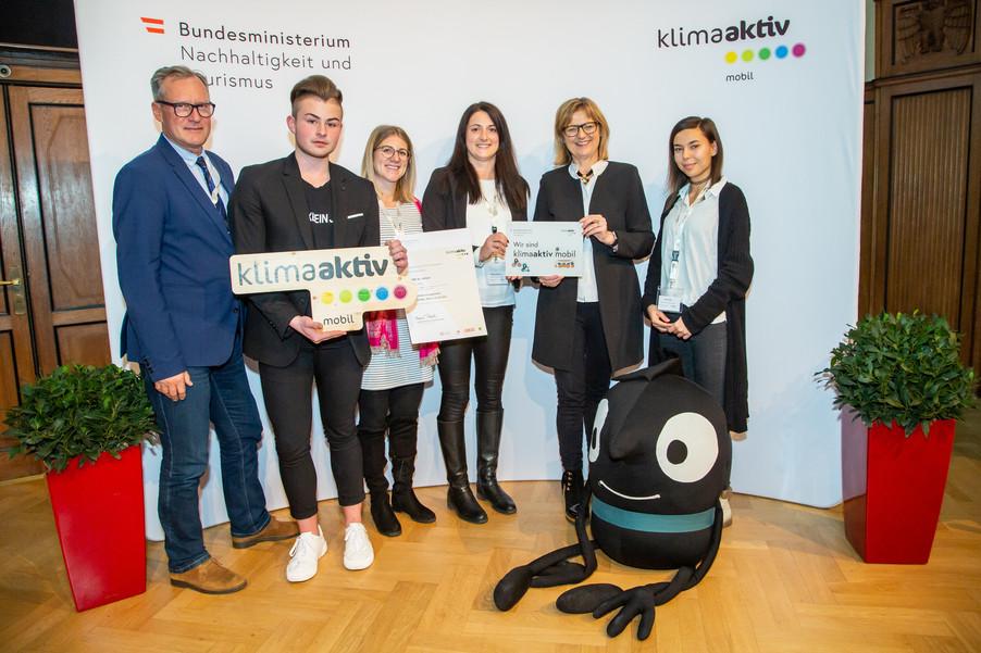 Bild 37 | klimaaktiv mobil Auszeichnung Bildungseinrichtungen 2019