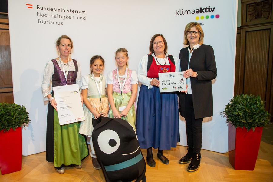 Bild 41 | klimaaktiv mobil Auszeichnung Bildungseinrichtungen 2019