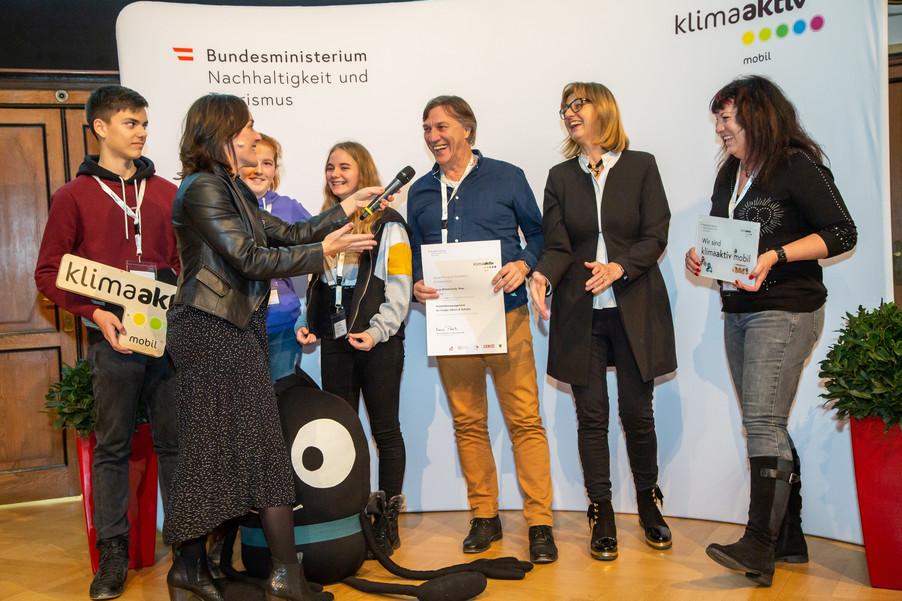 Bild 146 | klimaaktiv mobil Auszeichnung Bildungseinrichtungen 2019