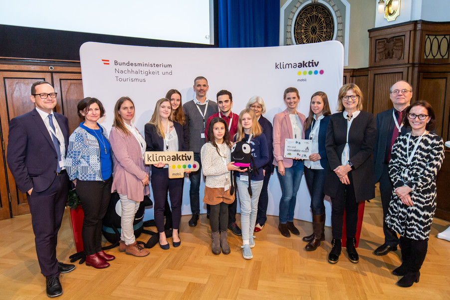 Bild 48 | klimaaktiv mobil Auszeichnung Bildungseinrichtungen 2019