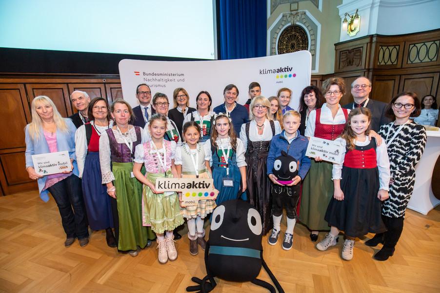 Bild 49 | klimaaktiv mobil Auszeichnung Bildungseinrichtungen 2019
