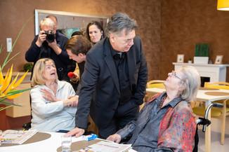 Bild 40 | Bundeskanzler Kurz, Vizekanzler Kogler und Sozialminister Anschober besuchen das Haus der ...