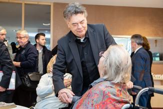 Bild 42 | Bundeskanzler Kurz, Vizekanzler Kogler und Sozialminister Anschober besuchen das Haus der ...