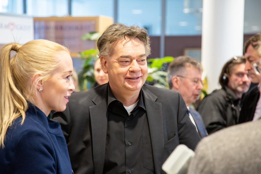 Bild 102 | Bundeskanzler Kurz, Vizekanzler Kogler und Sozialminister Anschober besuchen das Haus der ...
