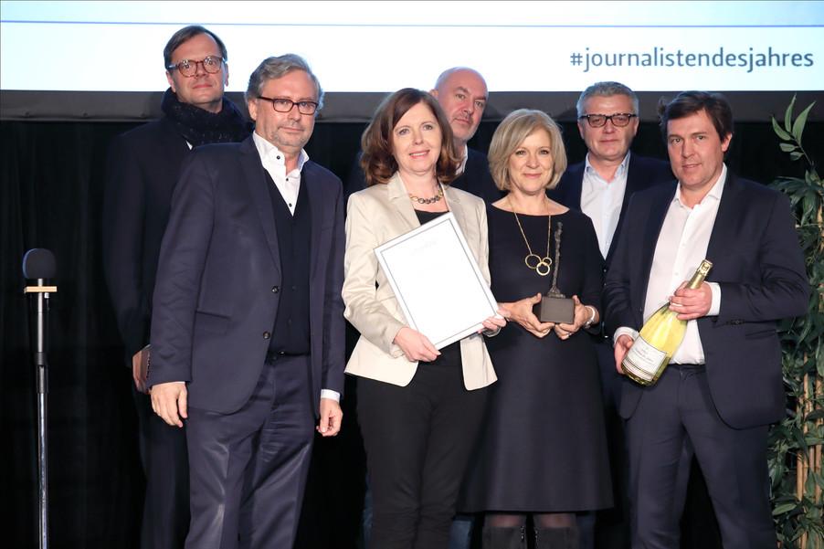 Bild 4 | Journalisten des Jahres