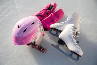 Bild 39 | Helm schützt - auch beim Eislaufen