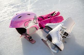 Bild 40 | Helm schützt - auch beim Eislaufen