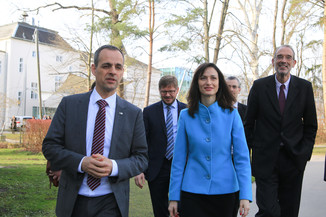 Bild 32 | Kommissarin Mariya Gabriel besucht das Institute of Technology and Science Austria (ISTA)