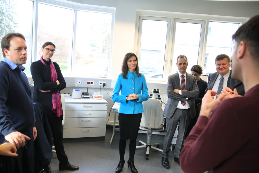 Bild 38 | Kommissarin Mariya Gabriel besucht das Institute of Technology and Science Austria (ISTA)