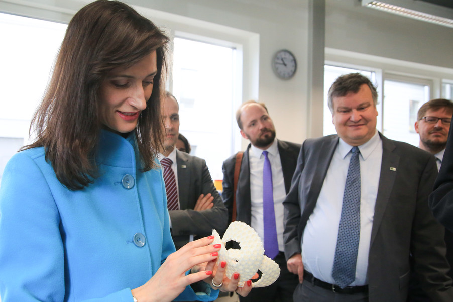 Bild 49 | Kommissarin Mariya Gabriel besucht das Institute of Technology and Science Austria (ISTA)