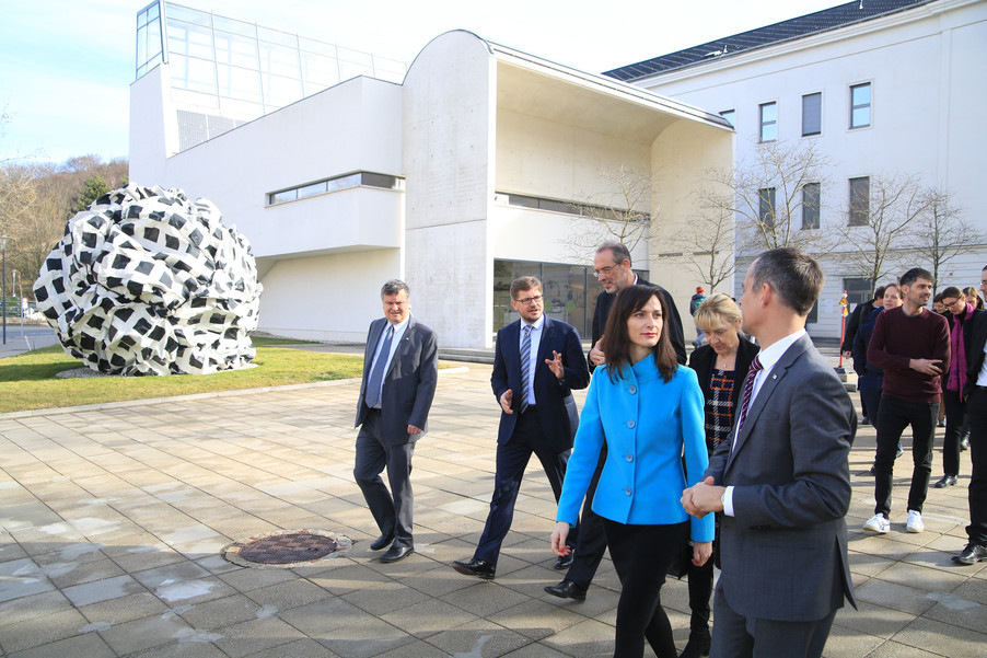 Bild 63 | Kommissarin Mariya Gabriel besucht das Institute of Technology and Science Austria (ISTA)
