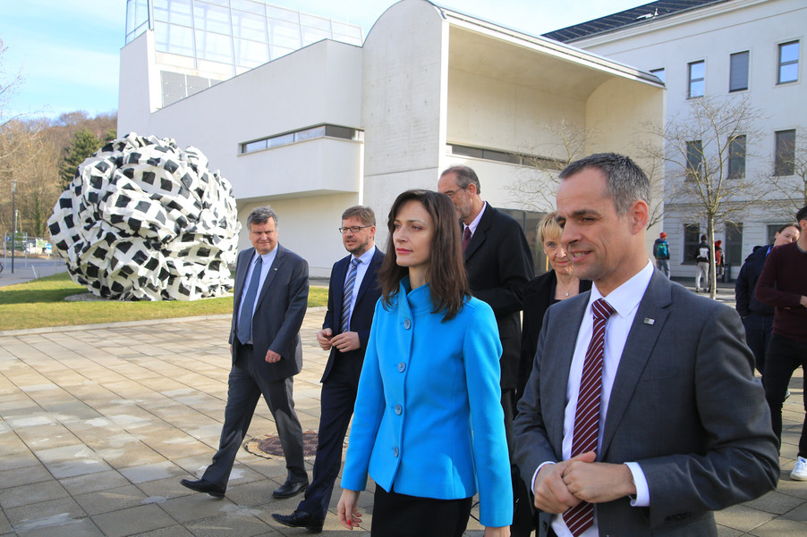 Bild 64 | Kommissarin Mariya Gabriel besucht das Institute of Technology and Science Austria (ISTA)
