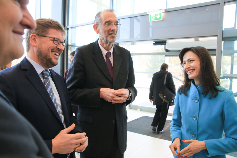 Bild 67 | Kommissarin Mariya Gabriel besucht das Institute of Technology and Science Austria (ISTA)