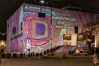 Bild 2 | Hundertwasser - Schiele. Imagine Tomorrow