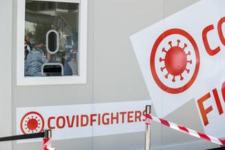 Bild 19 | Vorstellung COVID Fighters Testsystem