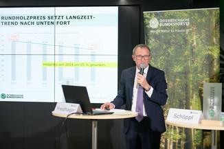 Bild 4   Bilanz-Pressekonferenz der Österreichischen Bundesforste AG (ÖBf AG): Ergebnisse zum ...