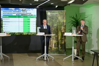Bild 6   Bilanz-Pressekonferenz der Österreichischen Bundesforste AG (ÖBf AG): Ergebnisse zum ...