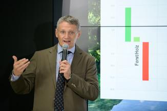 Bild 7   Bilanz-Pressekonferenz der Österreichischen Bundesforste AG (ÖBf AG): Ergebnisse zum ...