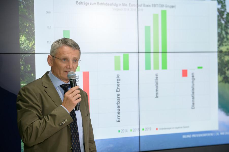 Bild 8   Bilanz-Pressekonferenz der Österreichischen Bundesforste AG (ÖBf AG): Ergebnisse zum ...