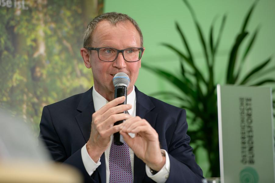 Bild 9   Bilanz-Pressekonferenz der Österreichischen Bundesforste AG (ÖBf AG): Ergebnisse zum ...