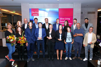 Bild 1 | Verleihung Silver Living JornalistInnen Award