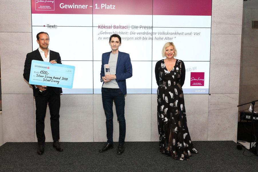 Bild 2 | Verleihung Silver Living JornalistInnen Award