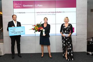 Bild 3 | Verleihung Silver Living JornalistInnen Award
