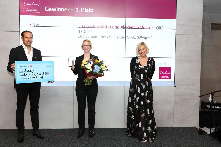 Bild 4 | Verleihung Silver Living JornalistInnen Award