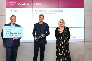 Bild 7 | Verleihung Silver Living JornalistInnen Award